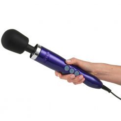 Doxy Die Cast Wand Massager (Purple, UK Plug)