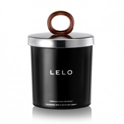 Lelo Flickering Touch Massage Candle (Vanilla And Creme De Cacao)